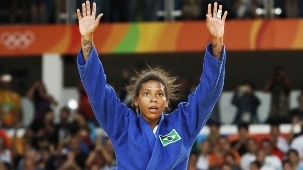 Rafaela Silva bateu líder do ranking no judô e conquistou 1º ouro brasileiro na Olimpíada