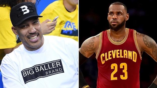LeBron James rebateu frase polêmica de LaVar Ball, pai da promessa Lonzo Ball