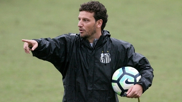 Elano comanda treino do Santos nesta segunda-feira