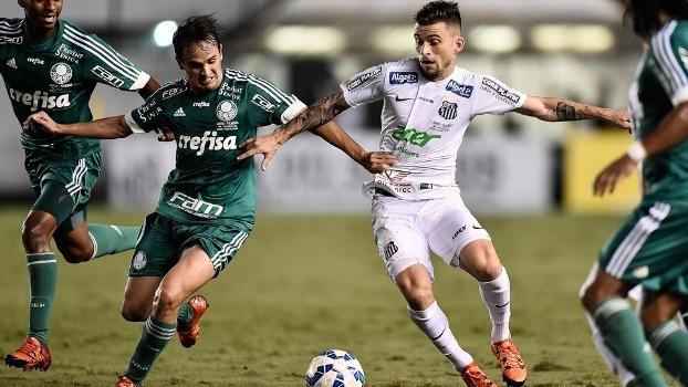 Santos foi melhor e mereceu a vitória  Palmeiras precisa mudar a ... 1a039a44fef20