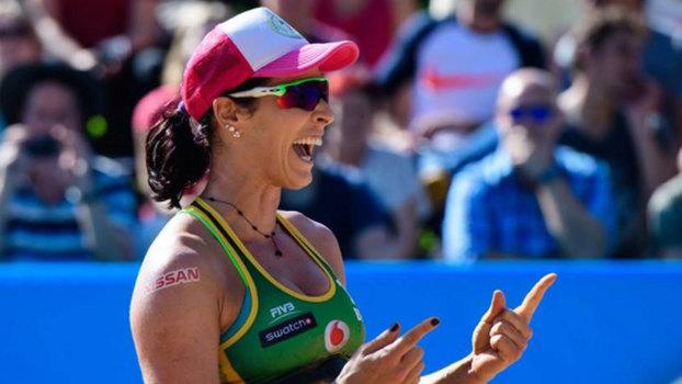 Duda e Ágatha são finalistas do World Tour em Hamburgo