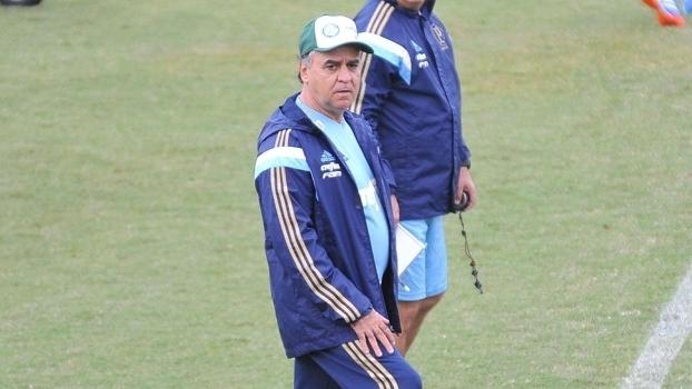 Marcelo Oliveira durante treino do Palmeiras nesta segunda-feira  jogo  decisivo quinta b8a0aa96ea1d1