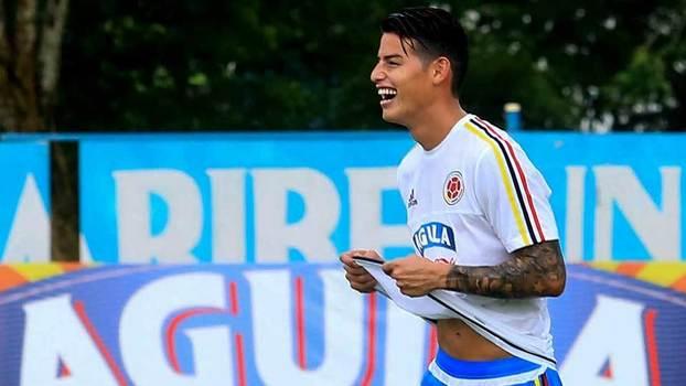 Bayern impede James de defrontar a Venezuela — Internacional