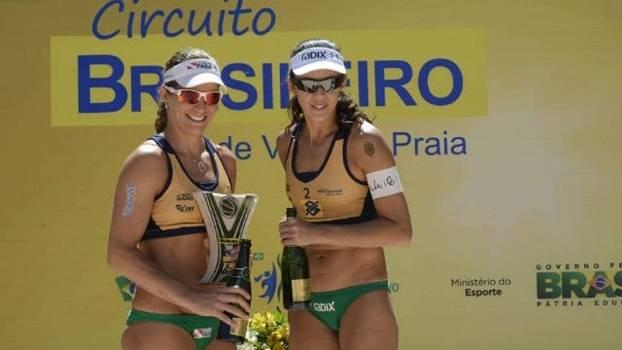 Volei de Praia Brasilia Larissa talita campeas titulo