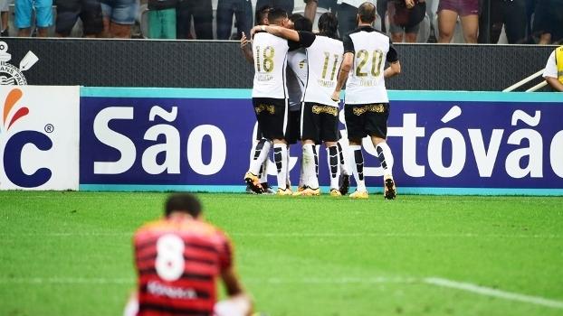 Corinthians Comemora Gol Oeste Campeonato Paulista 27/02/2016