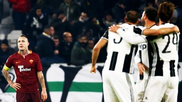 Nainggolan Roma Juventus Campeonato Italiano 17/12/2016