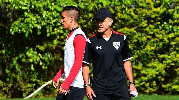 São Paulo treino Centurion Osorio