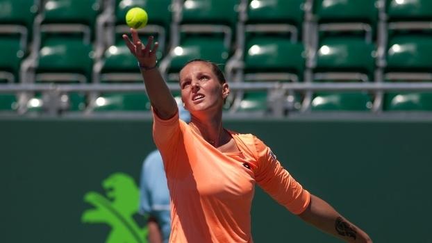 Krystina Pliskova enfrentará Barthel na final em Praga