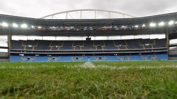 O estádio do Engenhão será o palco de Brasil x Colômbia