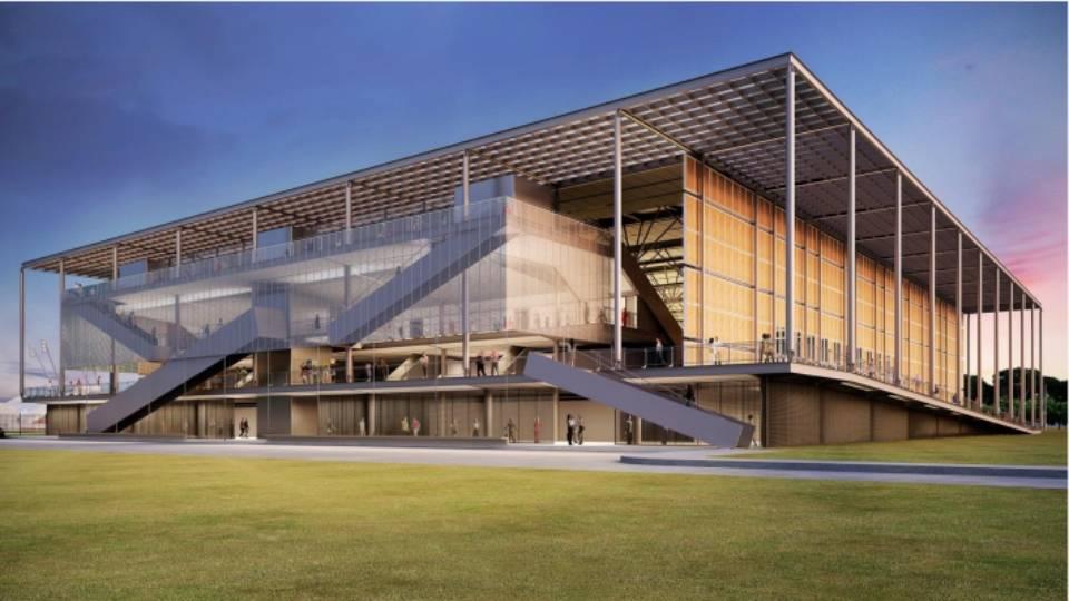 Arena da Juventude, em Deodoro, ainda está na parte das fundações e deve ficar pronta no começo de 2016