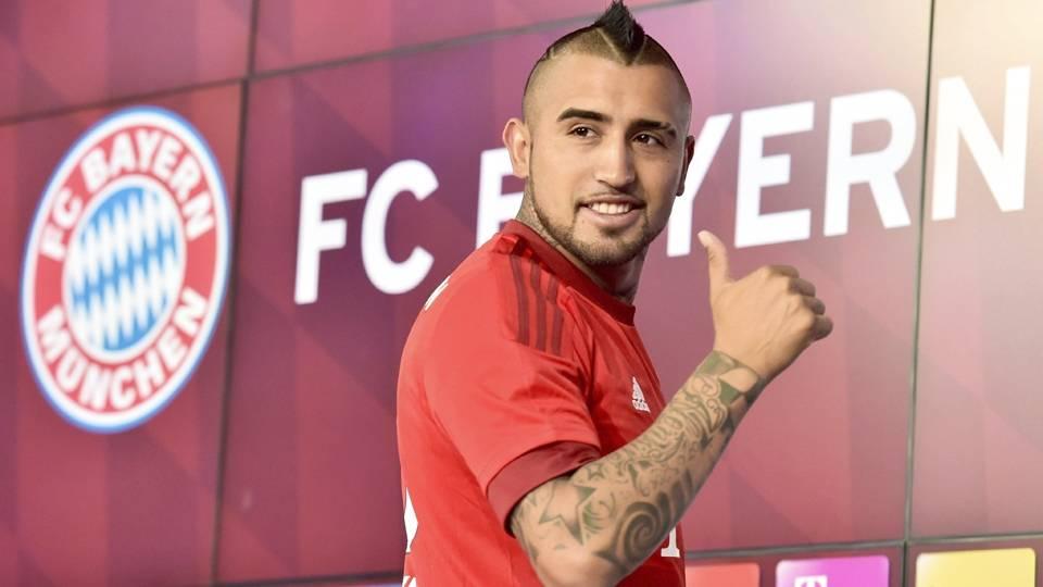 5. Vidal, da Juventus para o Bayern de Munique: 37 milhões de euros (R$ 144,1 milhões)