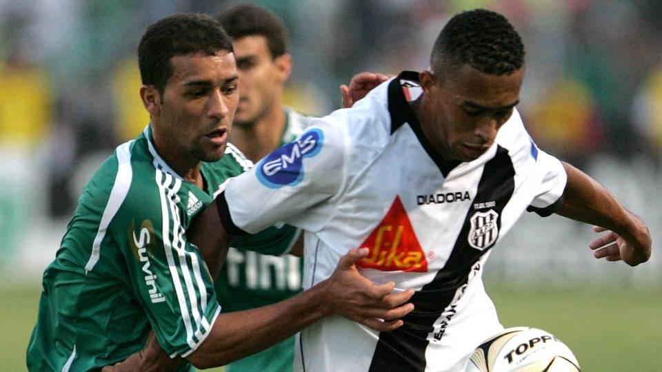 'Cão de Guarda' do time campeão, Pierre (esq.) trocou recentemente o Atlético Mineiro pelo Fluminense
