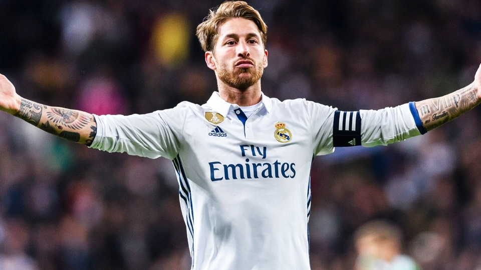 Sergio Ramos: 7º no Fifa 18, com 90 pontos; 53º maior valor no Transfermarkt, 40 milhões de euros
