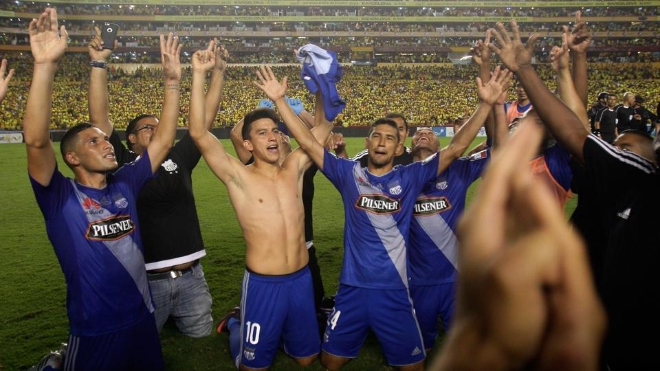 FASE DE GRUPOS: Emelec, Equador - vice-campeão equatoriano
