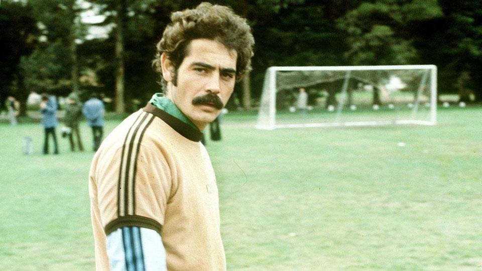 Rivellino durante preparação para a Copa de 1978, na Argentina
