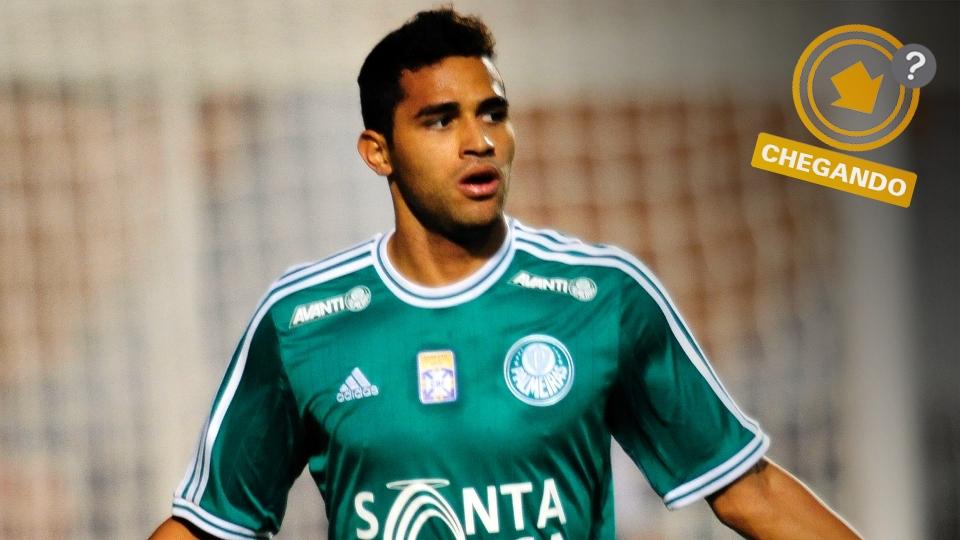 Alan Kardec fez boa Série B pelo Palmeiras e entrou no radar do Flamengo para a disputa da Copa Libertadores