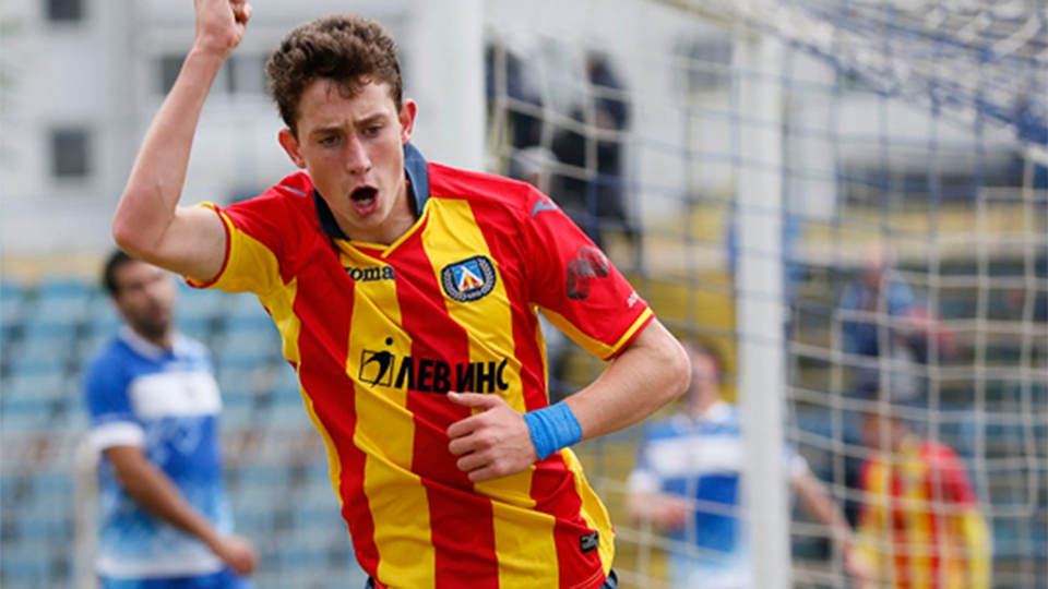 O atacante Bozhidar Kraev segue no Levski Sofia, clube pelo qual estreou como profissional e tem passagem pelas seleções de base da Bulgária