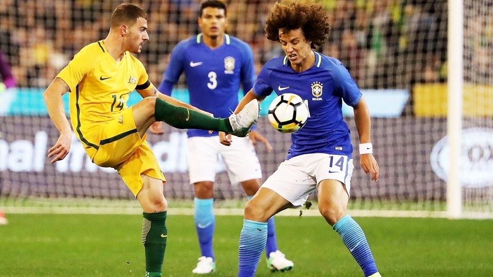 David Luiz entrou como titular no jogo