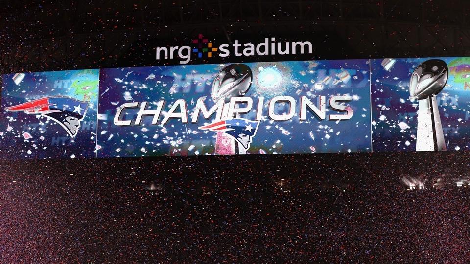 Patriots, históricos: campeões no Super Bowl LI