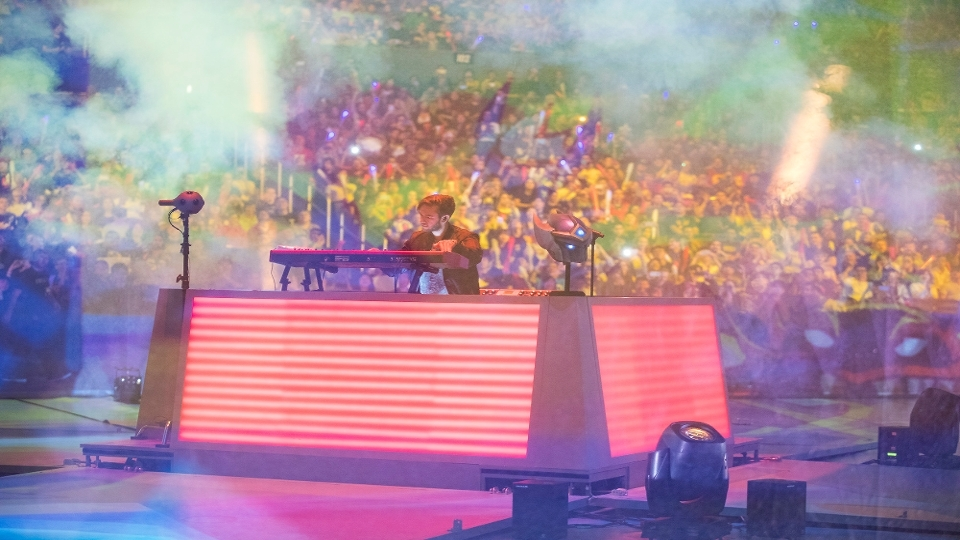 DJ Zed fez o show de abertura do Mundial de 'League of Legends'