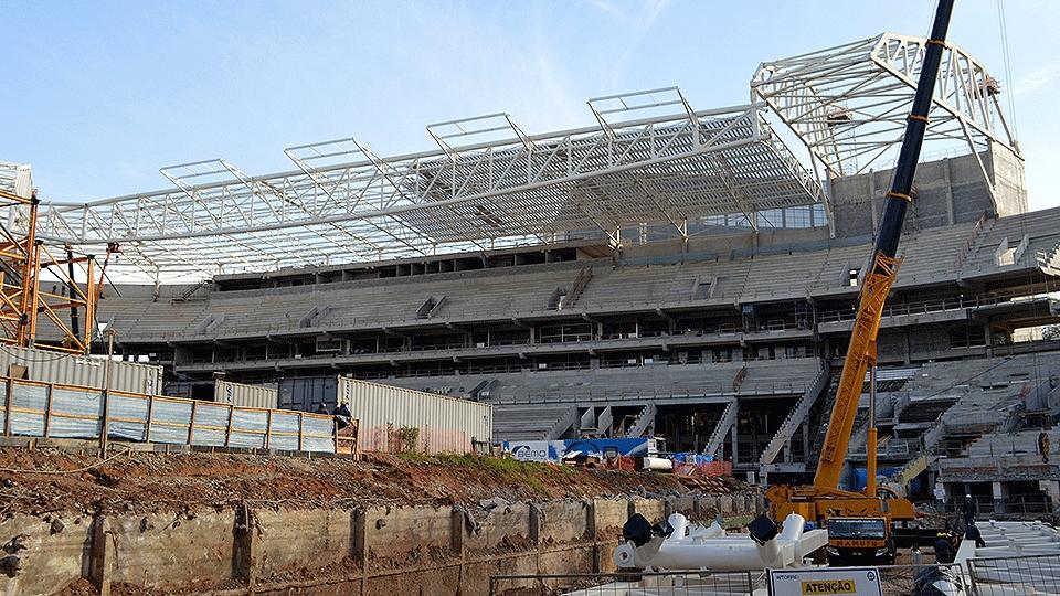 Allianz Parque deve ficar pronto em março de 2014, no máximo até o fim primeiro semestre do ano que vem