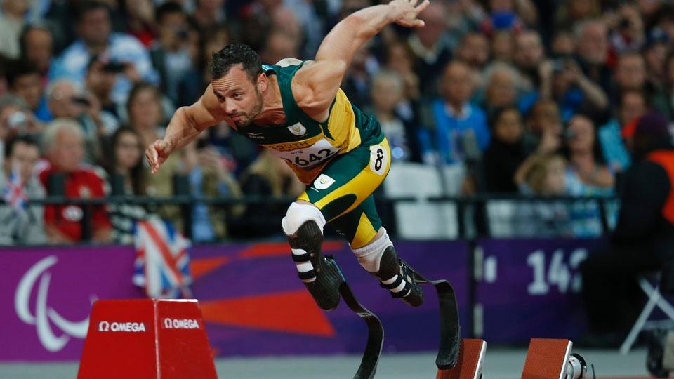Oscar Pistorius era o favorito a levar o ouro nos 200m T44 na Paralimpíada de Londres-2012...