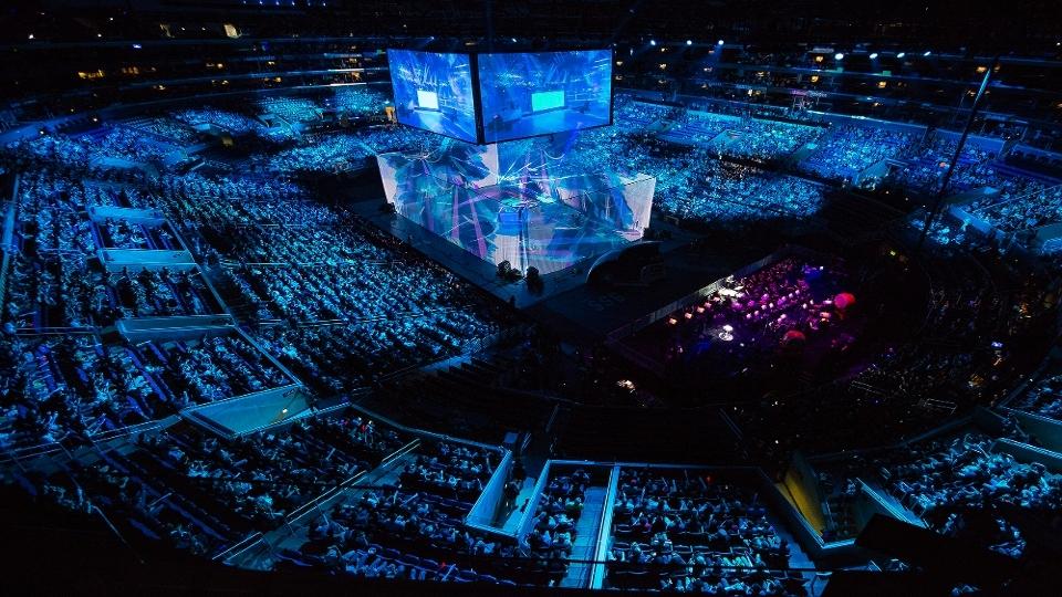 A Grande Final de League of Legends reuniu a SKT e a Samsung Galaxy, os dois principais times da Coreia do Sul no Staple's Center