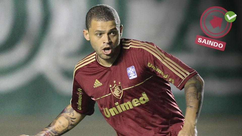 Após três temporadas no Flu, Edinho saiu do clube e foi para o Grêmio