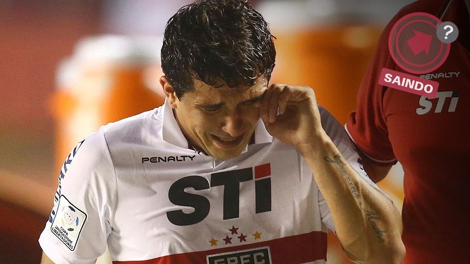 Aloísio virou um ídolo do São Paulo, mas recebeu uma proposta do futebol chinês e poderia sair