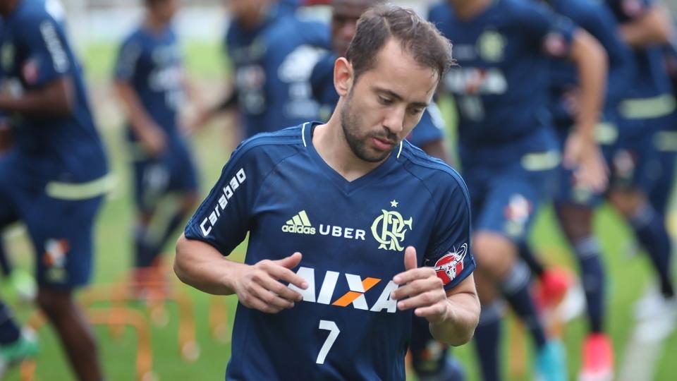 Éverton Ribeiro: o meia foi chamado pelo técnico Dunga em algumas ocasiões enquanto atuava pelo Cruzeiro