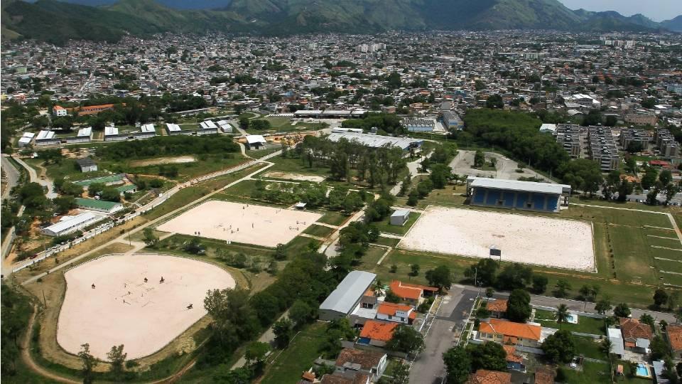O Centro Olímpico de Hipismo, que foi usado no Pan de 2007, está sendo reformado e ampliado