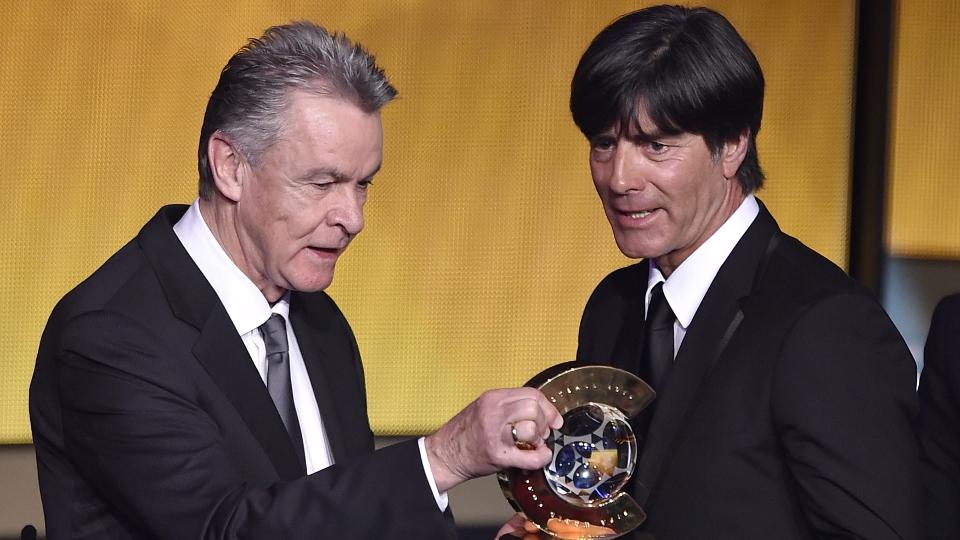 Joachim Low, campeão mundial com a Alemanha, foi eleito o melhor técnico de 2014