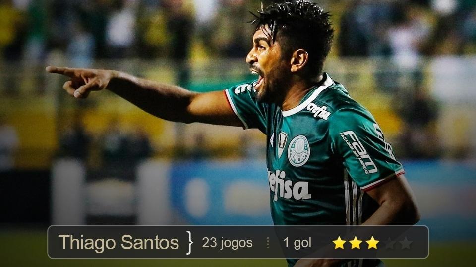Com função tática importante, foi ladrão de bolas implacável nas mãos de Cuca, como titular ou reserva. Ainda fez um gol decisivo contra o Grêmio