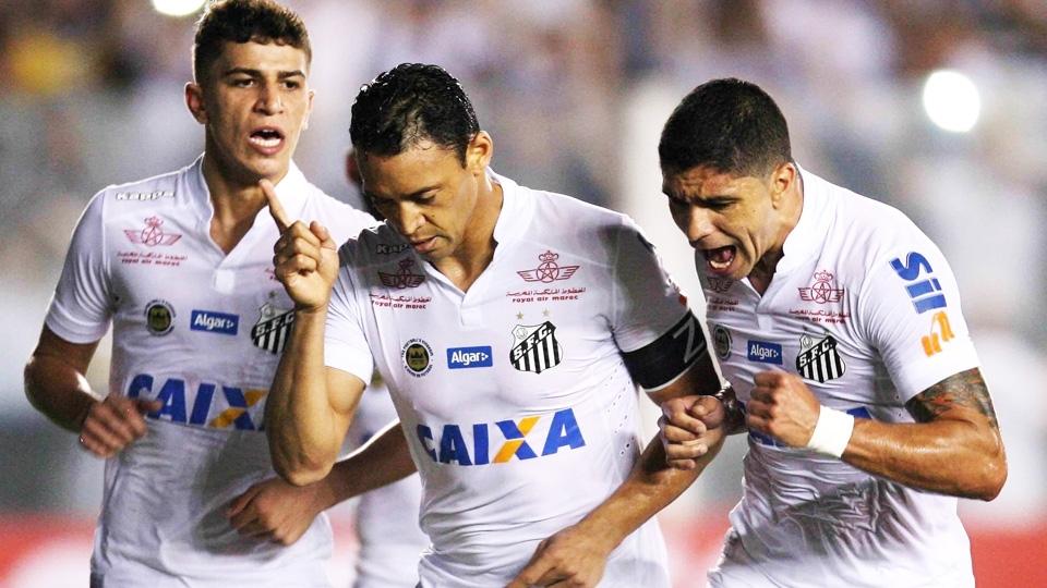 FASE DE GRUPOS: Santos, Brasil - vice-campeão brasileiro