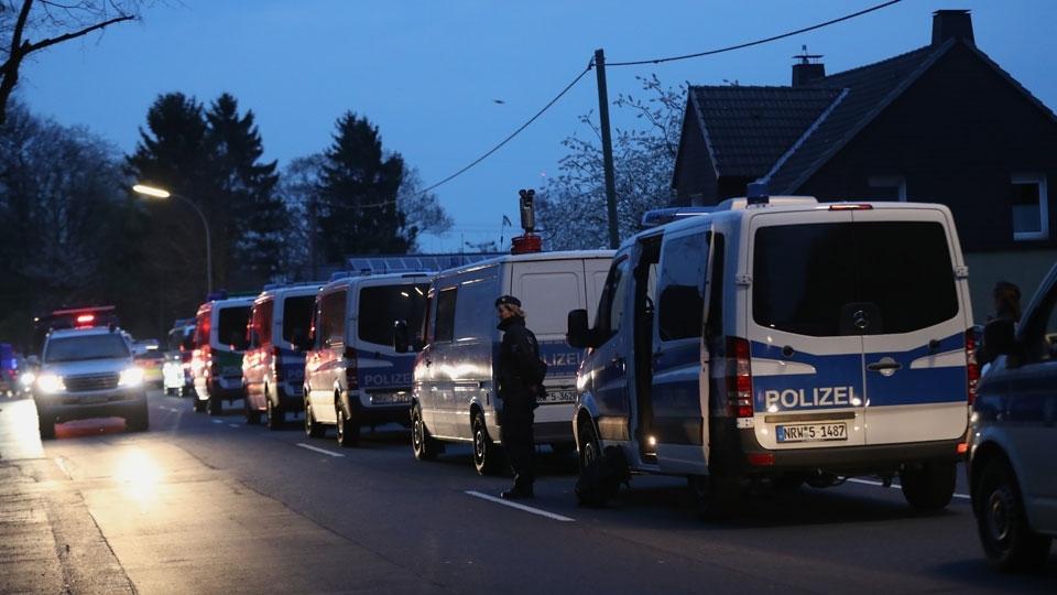 Polícia de Dortmund mandou diversos carros ao local das explosões
