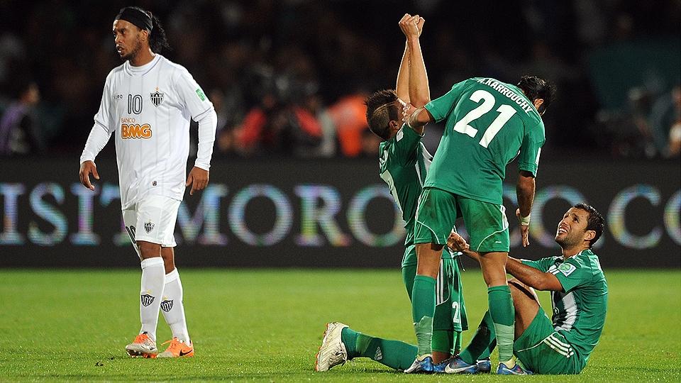 Em 2013, o Atlético-MG seguiu a mesma linha e caiu para o Raja Casablanca