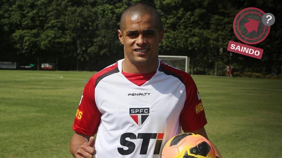 Welliton chegou com contrato apenas até o fim de 2013 e poderia voltar ao Spartak Moscou