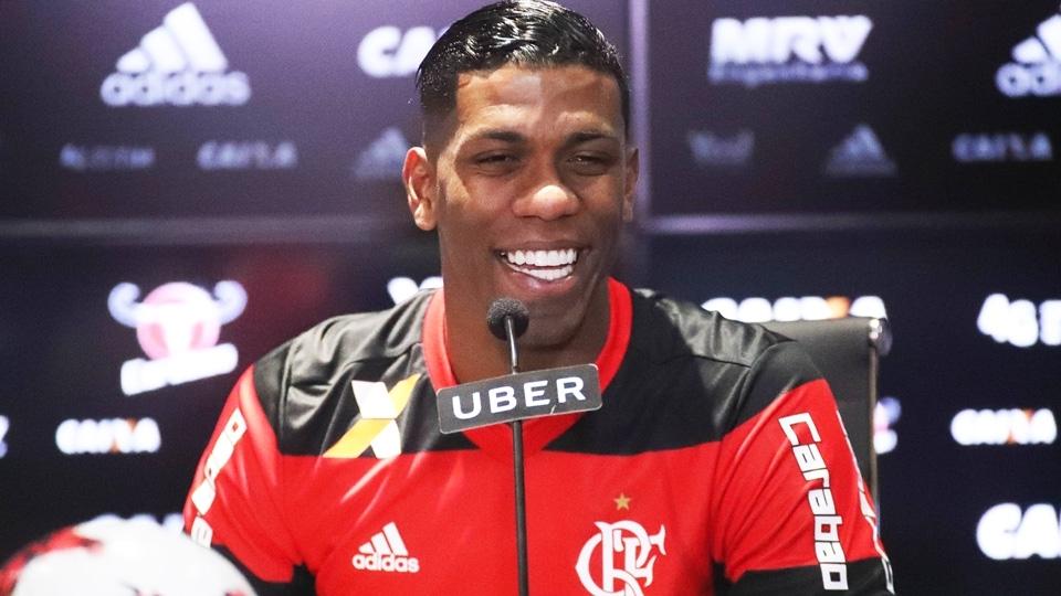 Berrío: o atacante vem sendo convocado pelas seleção colombiana desde 2016, quando atuava pelo Atlético Nacional
