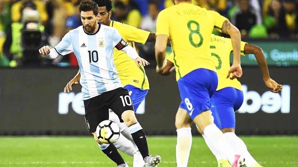 Messi Argentina Brasil 09/06/2017