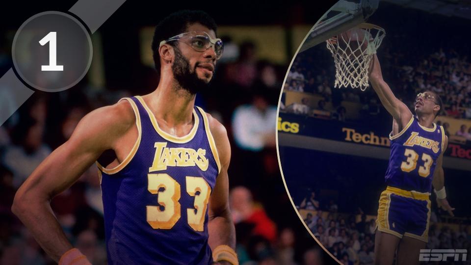 1 - Kareem Abdul-Jabbar - 38.387 pontos
