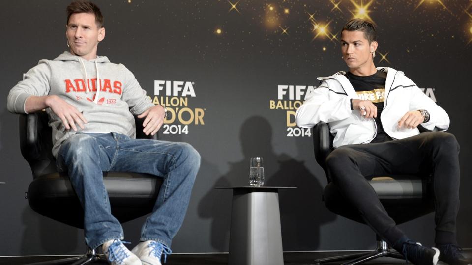 Messi e Cristiano Ronaldo são os finalistas do prêmio pelo sétimo ano consecutivo