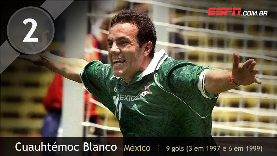 No título de 1999, ele fez 4 gols contra Arábia Saudita na 1ª fase, anotou o gol da vitória na semi contra EUA e voltou a marcar na final com o Brasil
