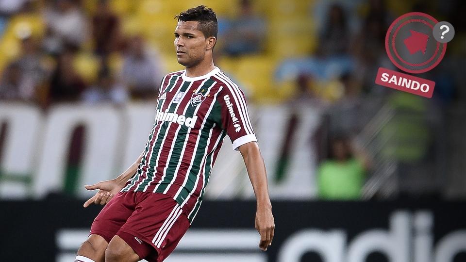 Zagueiro Anderson perdeu espaço no Fluminense e despertou o interesse do Palmeiras para 2014