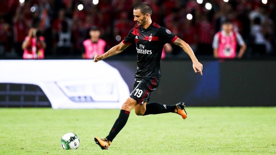 11º - Bonucci (42 milhões de euros, R$ 156,42 milhões): será o camisa 19 do Milan