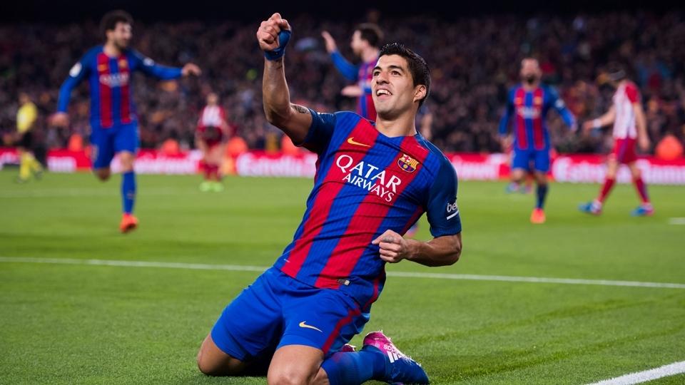 Luis Suárez: 4º no Fifa 18, com 92 pontos; 4º maior valor no Transfermarkt, 90 milhões de euros