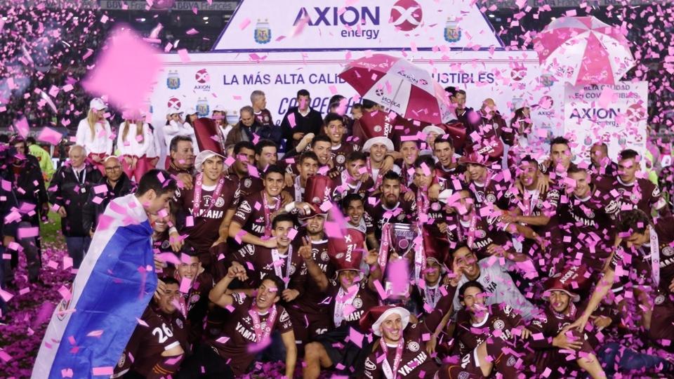 FASE DE GRUPOS: Lanús, Argentina - campeão argentino