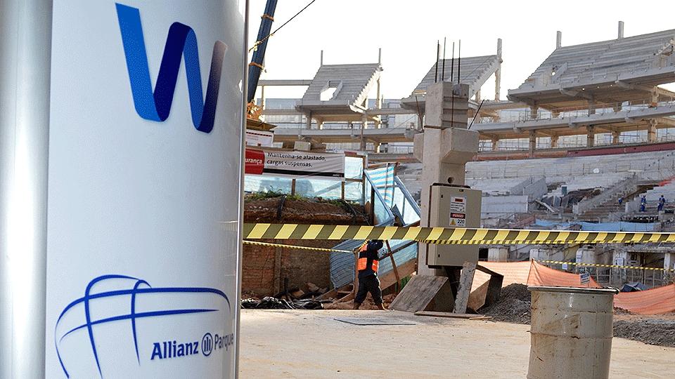 WTorre é a empresa responsável pela construção da arena