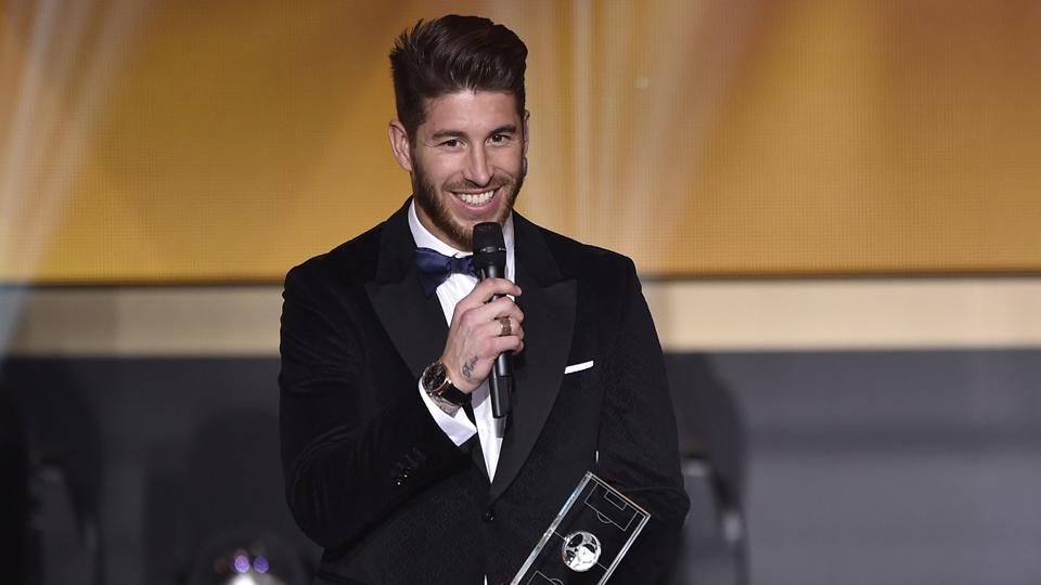 Sergio Ramos foi eleito um dos melhores laterais pela Fifa