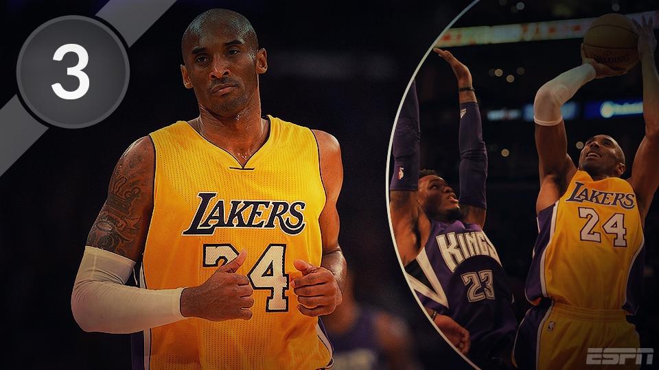 3 - Kobe Bryant - 32.310 pontos