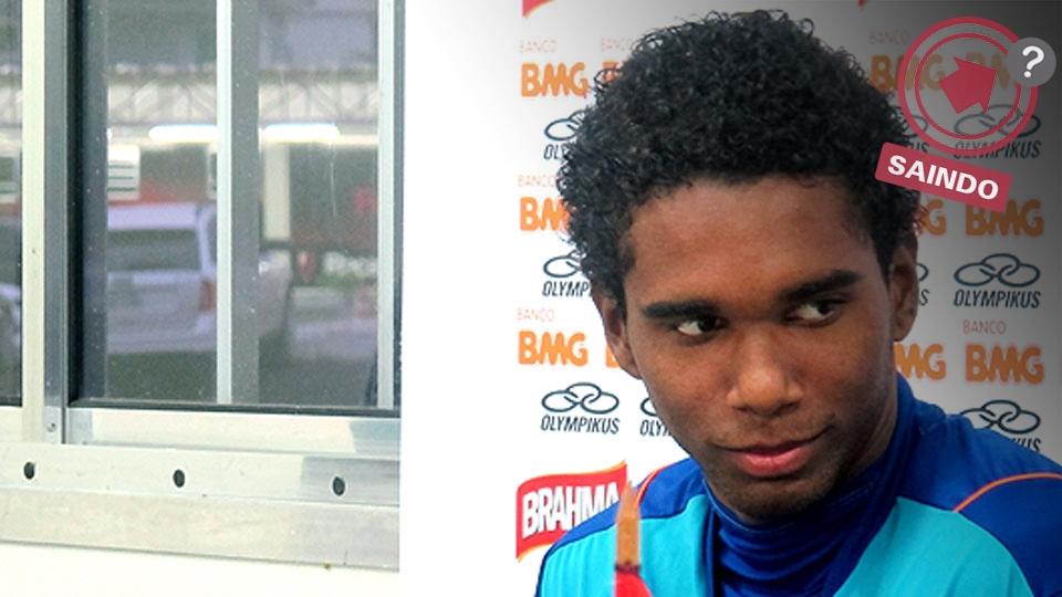 O volante Luiz Antônio está na mira do Porto e pode deixar o Flamengo